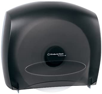 IN-SIGHT 09612 Smoke Grey JRT Jumbo Roll Bath Tissue Dispenser