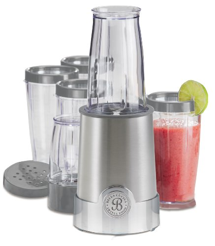 New BELLA 13330 12-Piece Rocket Blender, Stainless Steel