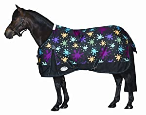 Weatherbeeta Pony Original 600D Medium Turnout Rainbow Paint, 63