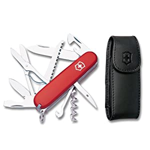 Victorinox Swiss Army Huntsman with Free Pouch