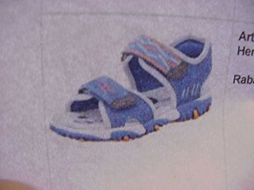 Superfit 4-00173-94, Sandali bambine, Blu (DENIM KOMBI), 32