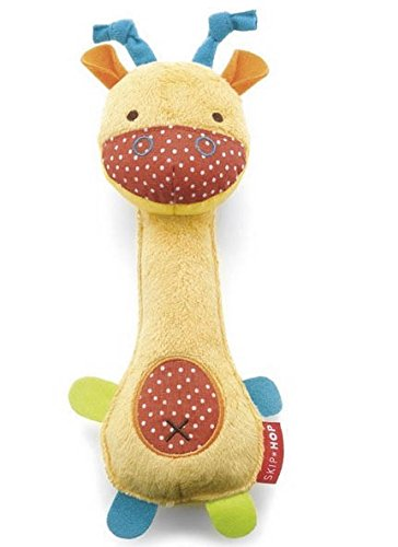 Giraffe Handbell Activity Toy Baby Rattle Product Development 0-12 Months Toys front-1055342