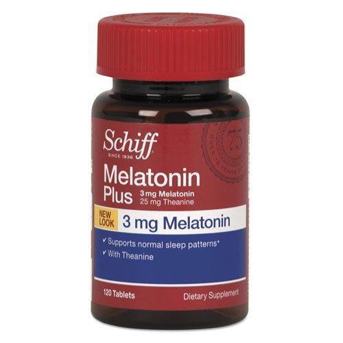 Schiff Melatonin Plus Tablet, 120 Count