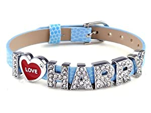 I Love Harry One Direction Id Member Bracelet Wristband Wrist Band Link Chain Fashion Jewelry by Yiwu City Yinuo E-Commercial Business Co.,Ltd