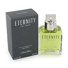 Eternity By Calvin Klein For Men Eau De Toilette Spray 3.4 Oz