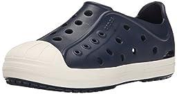 crocs Bump It Shoe Slip-On Shoe (Toddler/Little Kid), Navy/Oyster, 9 M US Toddler