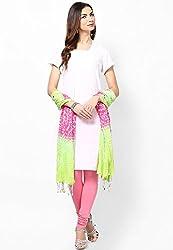 Soundarya Ethnicwear Cotton Bandhej Handwork Dupatta for Women (3060)
