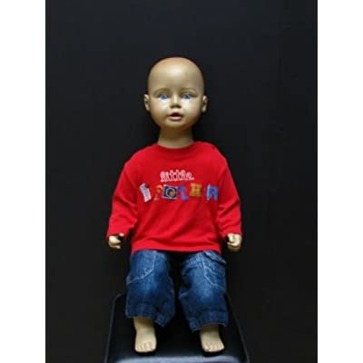 Frankie Child Seated Mannequin