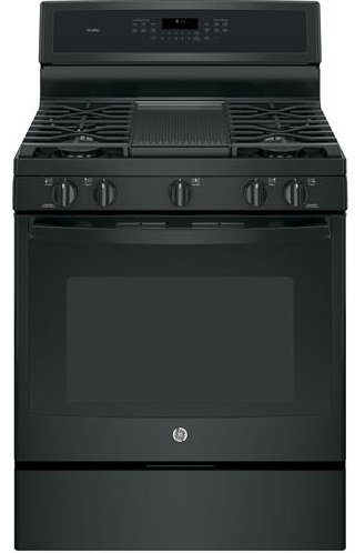 GE-PGB911DEJBB-Profile-30-Black-Gas-Sealed-Burner-Range-Convection