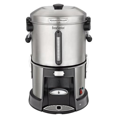 Coffee Urn, 45 Cup, Black/Silver