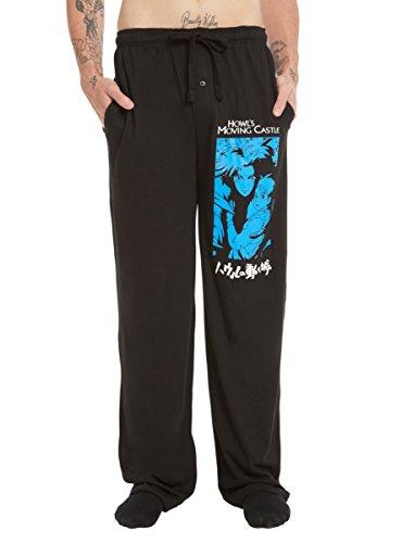Studio Ghibli Howl's Moving Castle Tonal Guys Pajama Pants