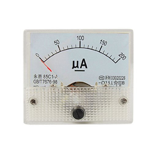 Purchase 0-200ua Dc Current Analog Panel Meter Amperemeter Gauge 85c1-a