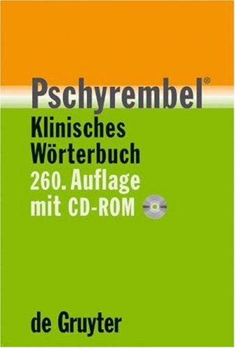 Pschyrembel Klinisches Wörterbuch (260. Auflage). Buch mit CD-ROM