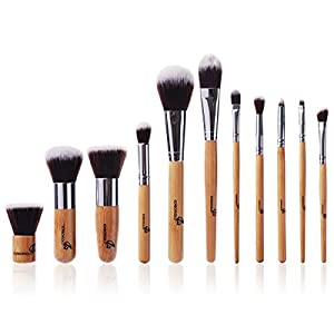 XCSOURCE® 11PCS Pro Makeup Brush Brushes Cosmetic Powder Tool Kit Set With Bag MT52