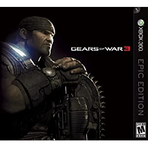 Gears of War 3 Epic Edition for Xbox 360