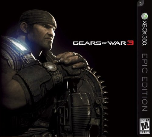 Gears of War 3 Epic Edition XBox 360 US Version
