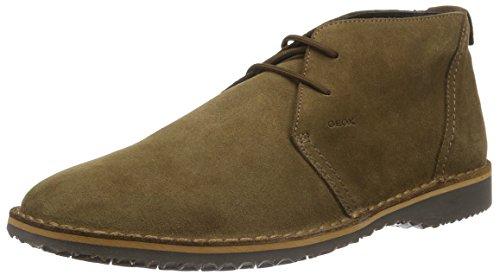 Geox U Zal C, Stivali Desert Boots Uomo, Braun (BROWNC0013), 42 EU