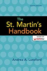 The St. Martin's Handbook, Eighth Edition
