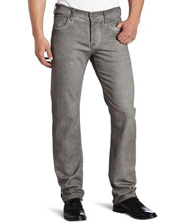 (历史最低)美产 7 For All Mankind Standard Classic 男士薄款修身丹宁牛仔裤$61.84