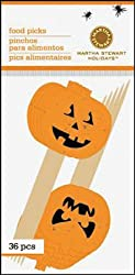 Martha Stewart Crafts Classic Halloween Mini Food Picks