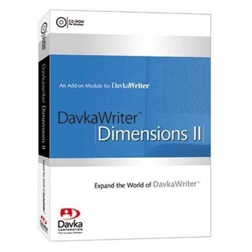 Davka Writer Dimensions II