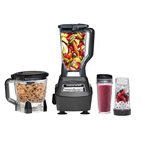 NEW Ninja BL770A Mega Kitchen System 1500W Power Blender Processor w/ Nutri Cups (Ninja Kitchen Systems compare prices)