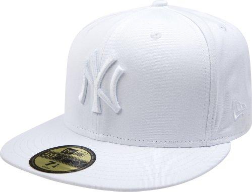 New Era New York Yankees MLB White on White 59FIFTY