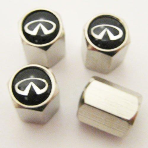 Cadillac Logo Valves Stems Caps Covers Chromed Metal Tire Car Wheel Emblem *USA*