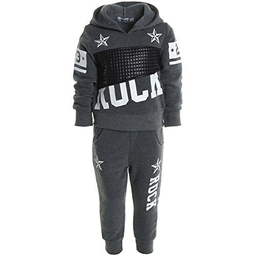 kinder-jogginganzug-junge-hoodie-pullover-kapuzenpullover-hose-sportanzug-20748-farbeanthrazitgrosse