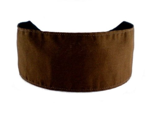 Bargain Headbands, Chocolate Brown, Cocoa Soft Fabric Beautiful and Elegant Headband
