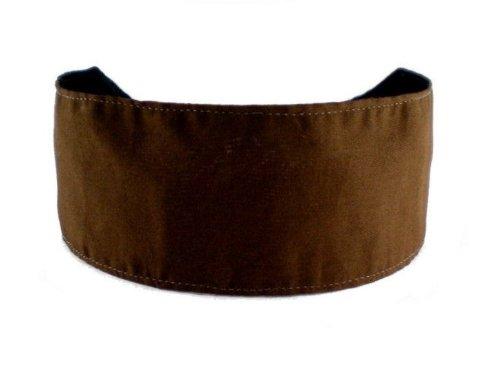 Bargain Headbands, Chocolate Brown, Cocoa Solid Beautiful and Elegant Headband