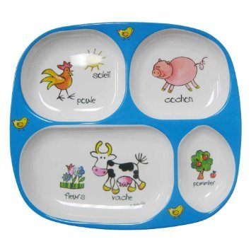 Baby Cie TV Tray - Farm - Blue