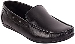 CAPLAND Mens Black Colour Synthetic Leather Formal Loafer B01NBUWJRH