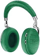 【国内正規品】Parrot Zik 3 密閉型ワイヤレスヘッドホン ノイズキャンセリング Bluetooth NFC Qiワイヤレス充電 Apple Watch対応 Emerald Green Crocodile PF562034