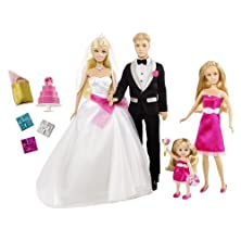 buy Barbie I Can Be A Bride Wedding Set