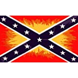 CONFEDERATE FLAG REBEL FLAME ~ Sportsworld