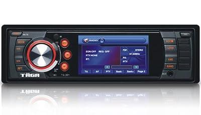 """TÄGA TG-302 Autoradio Moniceiver Bluetooth Freisprecheinrichtung 7,6 cm/3"""" TFT Monitor codefree DVD CD Player SD USB mp3 DIN 1 inkl. Fernbedienung von STEL Multimedia GmbH - Reifen Onlineshop"""
