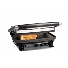 Toastess TSG-380 Stainless-Steel 1000-Watt Sandwich Grill