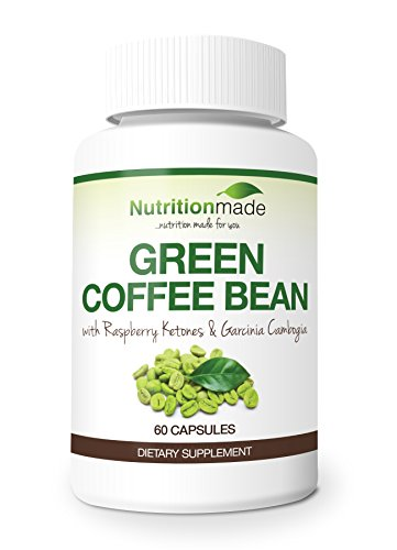 Green Coffee Bean Extract Ultra - With Raspberry Ketones And Garcinia Cambogia - 800Mg - Natural Weight Loss Supplement - With Gca - 50% Chlorogenic Acid - 60 Capsules