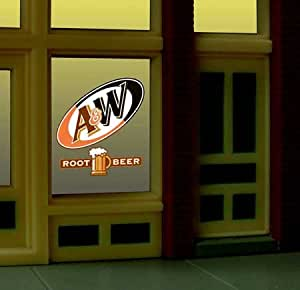 Miller Engineering 6666 A&W Window Sign by Miller Signs
