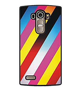 PrintDhaba Pattern D-5305 Back Case Cover for LG G4 (Multi-Coloured)