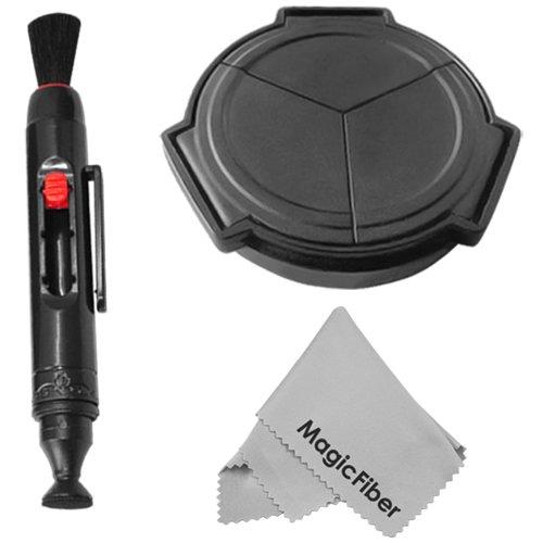 Auto Lens Cap For Sigma Dp1 Dp1S Dp2 + Lens Cleaning Pen + Premium Magicfiber Microfiber Cleaning Cloth