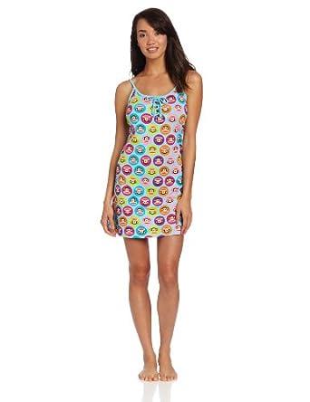Paul Frank Women's Cool Runnings Dot Chemise 大嘴猴超可爱舒适吊带裙 $8.99