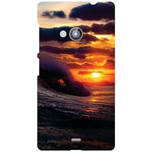 Nokia Lumia 535 Back Cover - Scenery Designer Cases