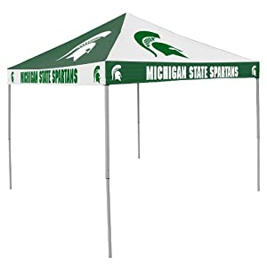 NCAA Michigan State Spartans Checkerboard Tent by Logo Chair Inc.