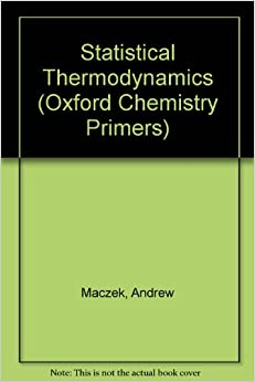 statistical thermodynamics oxford chemistry. Black Bedroom Furniture Sets. Home Design Ideas