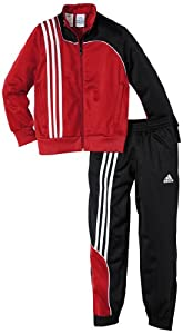 adidas Kinder Trainingsanzug  Sereno 11, Univerred/Black, 128, V38043
