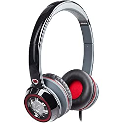 Monster Ncredible Ntune on-ear headphones with mic Black