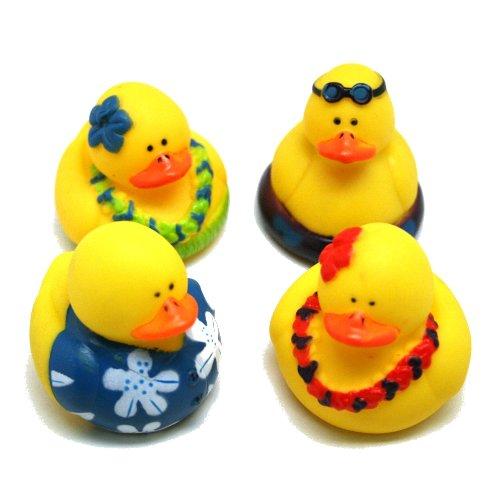 Luau Rubber Duckies : package of 12 - 1