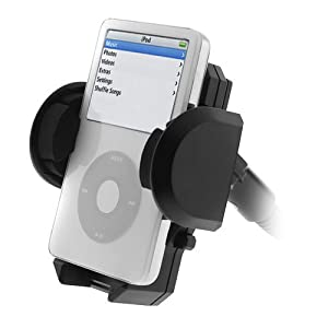 Unviersal Car Windshield Mount Holder for Apple iPod Video Classic 80GB, 160 GB By Ikross